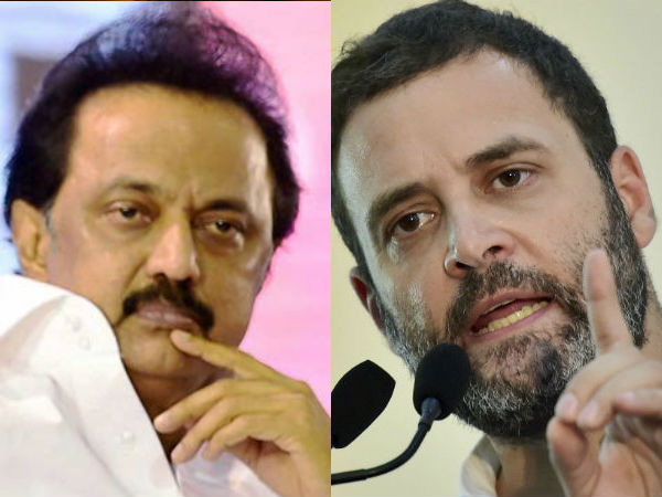 Congress Join Hands With Dmk