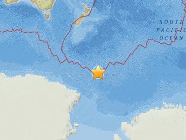Huge Magnitude 7 5 Earth Quake Reported Near Antarctica According To Us Geological Survey