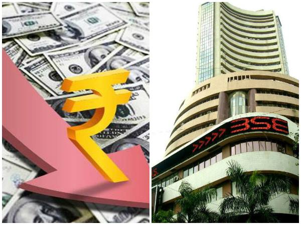 Election Results Rupee Decline Stock Market Faces Strong Set Back