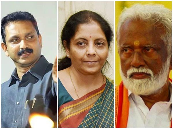 5 സീറ്റുകള് സ്വപ്നം കണ്ട് ബിജെപി; കുമ്മനം,നിര്മല,സെന്കുമാര് മുതല് സുരേഷ് ഗോപി വരെ പരിഗണനയില്