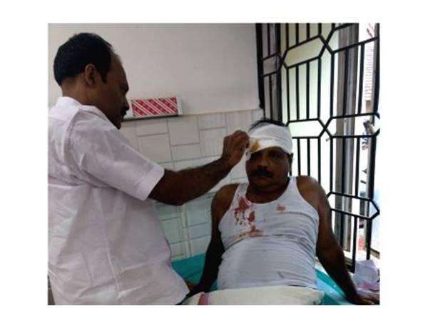 പെരുമ്പഴുതൂർ ബാങ്കിൽ സംഘർഷം:കോൺഗ്രസ് സി.പി.എം പ്രവർത്തകർക്ക് പരിക്ക്