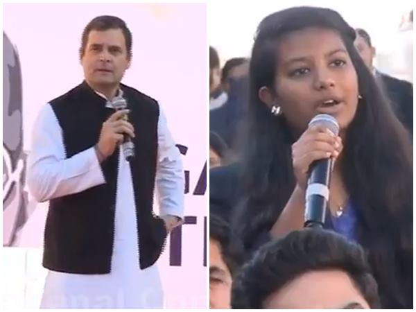 Rahul Gandhi Invited Stjdent To Join Congress Video Goes Viral