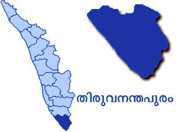 Thiruvananthapuram Map