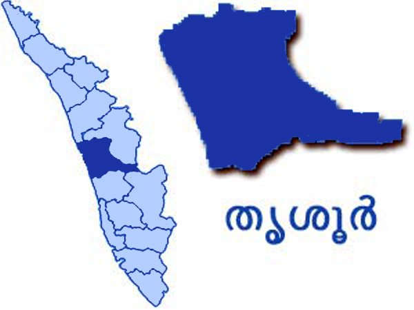Thrissur Map