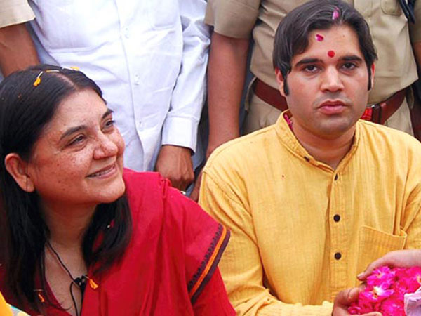 Maneka Gandhi and Varun gandhi