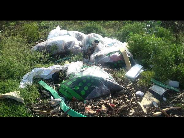 dumping of waste illegally