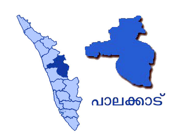 Palakkad map