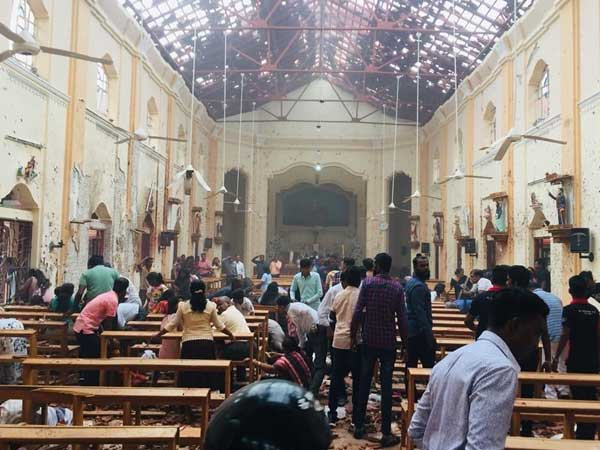 Blast Reported At Savoy Cinema In Colombo Srilanka