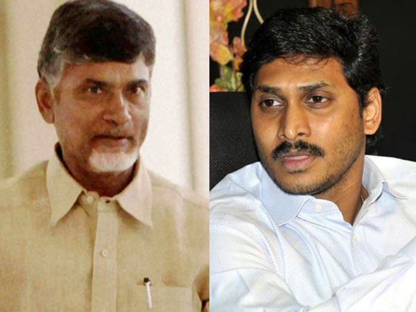 Chandrababu Naidu and Jagan Mogan Reddy