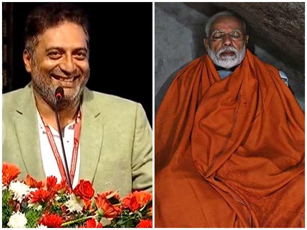 റോള് ക്യാമറ.. ആക്ഷന്.. ഒരു പഴ്സ് പോലും ഇല്ലാത്ത സന്ന്യാസി! മോദിയുടെ ധ്യാനത്തെ ട്രോളി പ്രകാശ് രാജ്