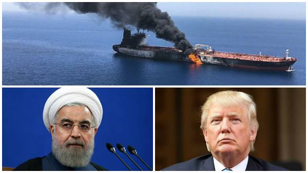 Us Release Video Evidence Agianst Iran On Gulf Of Oman Oil Tanker Attack