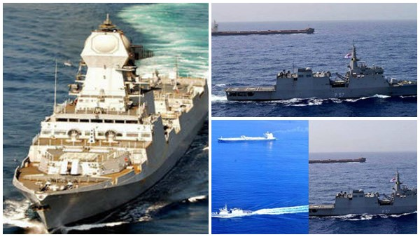 Indian Navy Deploys Warships In Gulf Of Oman Persian Gulf