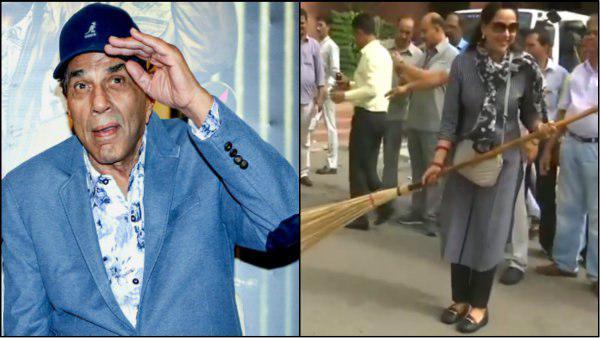 ഹേമമാലിനിയെ ട്രോളിയതിന് ക്ഷമ പറഞ്ഞ് ധര്മ്മേന്ദ്ര: ചൂലിനെപ്പറ്റി ഈ വീട്ടില് ഇനി ഒരക്ഷരം മിണ്ടില്ല