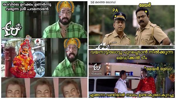 Kerala Floods Social Media Trolls Praising Thiruvananthapuram Mayor Vk Prasanth