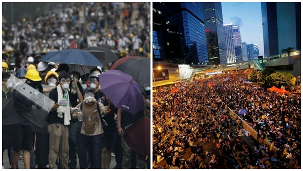 Hong Kong Protest 1 7 Million Protesters Flooded In Streets