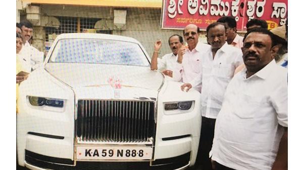 കർണാടകയിൽ കൂറുമാറിയ കോൺഗ്രസ് എംഎൽഎ സ്വന്തമാക്കിയത് 11 കോടിയുടെ ആഡംബര കാർ