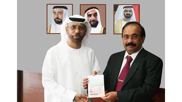 John Mathai Got Uae Government S Gold Card Visa