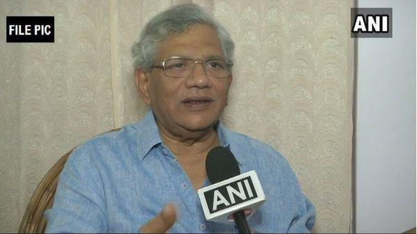 Sitharam Yechuri S Comments About Party S Role In Independence