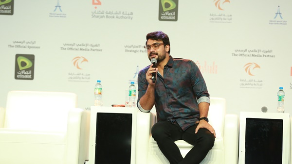 Tovino Thomas In Sharjah International Book Fair