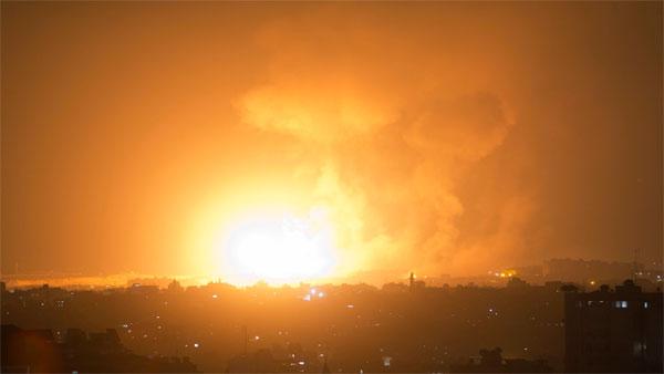 Iraq Rockets Hit Bhagdad S Green Zone Near Us Embassy