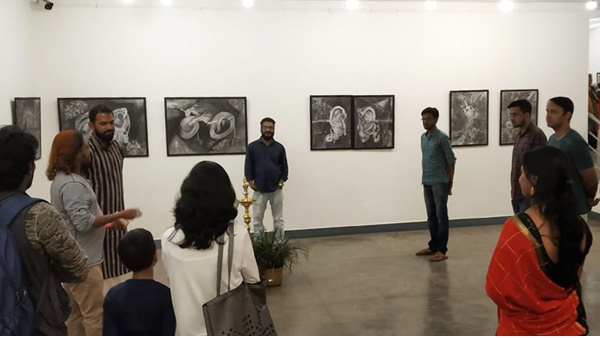 Exhibition Of Recent Works Of Sudheesh Pallissery