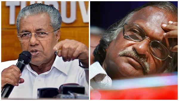 Coronavirus Sreekumaran Thampi Praises Chief Minister Pinarayi Vijayan