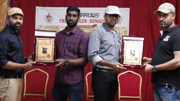 Kuwait Red Arrows Cricket Club Cricket Click Photo Contest Prizes Distributed