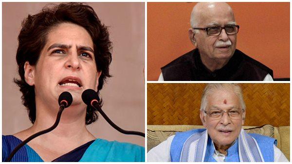 അദ്വാനിയും മുരളി മനോഹർ ജോഷിയും സർക്കാർ ചിലവിൽ ബംഗ്ലാവുകളിൽ! പ്രിയങ്ക ഗാന്ധിയോട് ചിറ്റമ്മ നയം