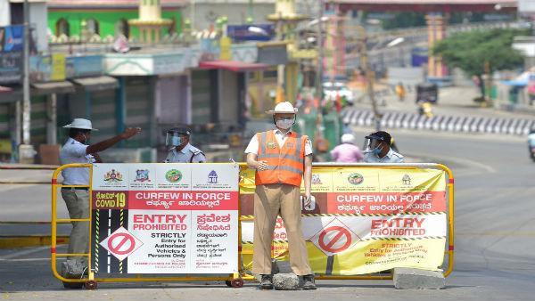 പിടിവിട്ട് ദക്ഷിണേന്ത്യൻ നഗരങ്ങൾ: ബെംഗളൂരുവിൽ 33 മണിക്കൂർ സമ്പൂർണ്ണ ലോക്ക്ഡൌൺ, മധുരൈയിൽ 7 ഏഴ് ദിവസം