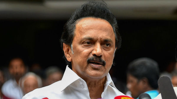 Is This India Or Hindia Asks Mk Stalin After Kanimozhi Issue