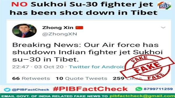 No China Not Shot Down Sukhoi Su 30 Fighter Jet