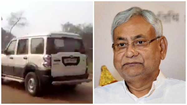 No Bihar Cm Nitish Kumar S Convoy Vehicle Not Attacked During Election Campaign