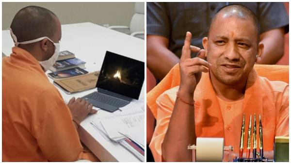 No Cm Yogi Adityanath Did Nt Watched Hathras Victim S Cremation Live
