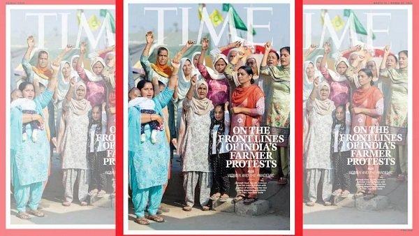 ടൈം മാഗസിന്റെ കവർ സ്റ്റോറിയിൽ സമരമുഖത്തെ സ്ത്രീകൾ: സമര ഭൂമിയിൽ ബിന്ദു അമ്മിണിയും