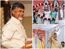 Lok Sabha Election 2019 Chandra Babu Naidu Leads Discussions With Opposition Leaders