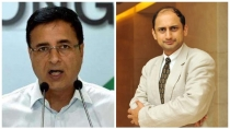 Randeep Surjewala Lashes Out At Centre After Viral Acharya Quits