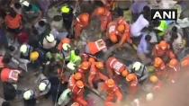 Mumbai Building Collapse Rescue Continues