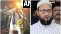 Owaisi Dance At Aurangabad Rally Video Viral