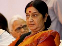 Swaraj Asks Embassy Riyadh Keep Her Informed On Indian Jailed Saudi