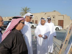 Dubai Lootah Inspects Shindagha Restoration Project