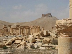 Isis Destroys Facade Of Roman Theater In Syrian City Of Palmyra