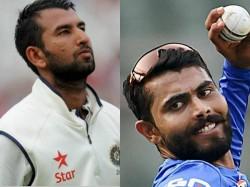 Icc Test Rankings Cheteshwar Pujara And Jadeja Shine