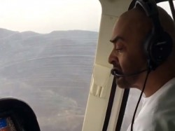Watch Abu Dhabi Crown Prince Flies Helicopter