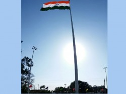 Country S Tallest Tricolour Hoisted At Attari Border