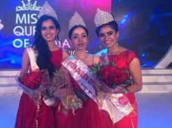 Bengaluru Malayalee Become Runner Up Of Miss Queen Of India