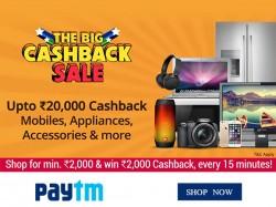 The Big Cashback Sale Rs 20000 Cashback 70 Off