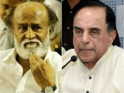 Subramanya Swami S Comment On Rejanikanth Joining Politics