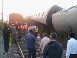 Train Derailed Pollachi No Casualties
