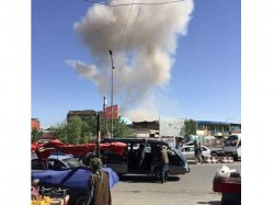 The Afghan Taliban Denied Responsibility A Vehicle Bomb Attack In Kabul