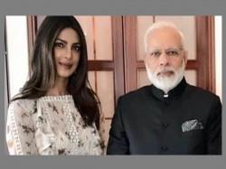 Modi Meets Priyanka Chopra Germany